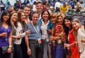 Laryngologists and residents at Sociedad Venezolana de Otorrinolaringologia 2012